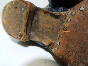 VICTORIAN child's lace-up shoes boots STEAMPUNK KIDS! Tiny Tim Cambridge Kitchener Area image 8