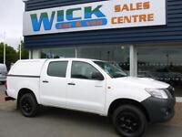 2014 Toyota HI-LUX ACTIVE 4X4 D-4D DCB Pickup Manual Pick-Up