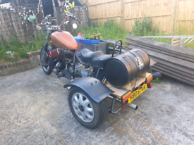 1975 reliant based trike project 850cc