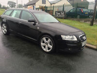 AUDI A6 2.0 TDI 140 ps S-LINE ESTATE 69000 miles black cambelt /flywheel done