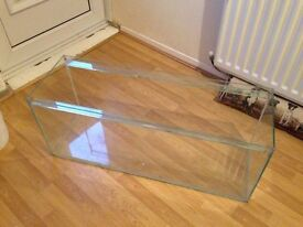3ft glass tank