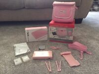Pink Nintendo DS lite plus limited edition players pack