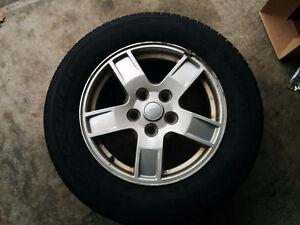 Jeep Alloy Rims w all season tires