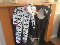 Cat & dog onesies (age 2)