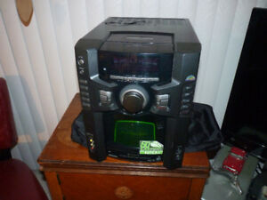 Sony 60 Disc CD Changer & Mini System
