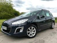 Peugeot 308 SW 1.6HDi SR 2012 Grey Manual Estate