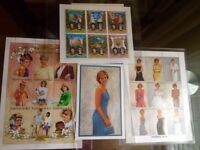 Princess Diana Stamps brand new collectors pack