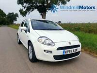 FIAT PUNTO 1.2 8V POP + 5DR WHITE - LOW MILEAGE - IDEAL 1ST CAR