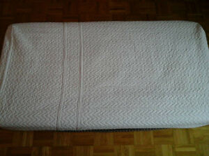 Protège matelas bassinette/ berceau