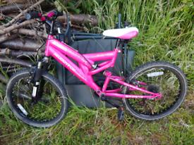 Muddyfox girls bike 20inch wheels