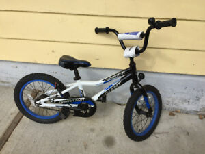 """Giant kids bike 16"""" inch great condition"""