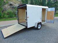 """6X10 CARGO TRAILER FOR RENT """"WITH RAMP DOOR"""" $50. Per day"""