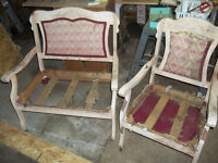 Antique Settee Restoring Project