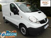 Vauxhall Vivaro 2.0 2900CDTi SWB van with only 27000 miles from new