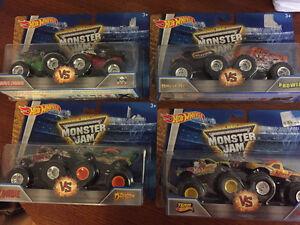 New! Hot Wheels monster jam trucks packs of 2