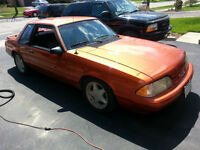 90 Ford Mustang LX Coupe