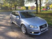 AUDI A3 2.0 DIESEL 170 BHP S LINE S/S 5DR,HPI CLEAR,1 OWNER,XENON,SAT NAV,CRUISE