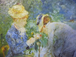 "Berthe Morisot ""Young Woman Sewing in the Garden"" Art Print Stratford Kitchener Area image 6"