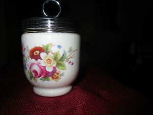 England Royal Worcester - Egg Coddler Florals
