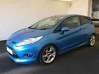 Ford Fiesta 1.6TDCi 2009MY Zetec S BLUE FROM £20 PER WEEK!