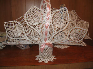 CROCHETED BASKETS - FOR YOUR FAVORITE ARRANGEMENTS-$30.00 EACH Edmonton Edmonton Area image 4