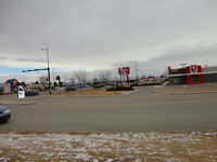 Commercial lot in south Lethbridge for sale