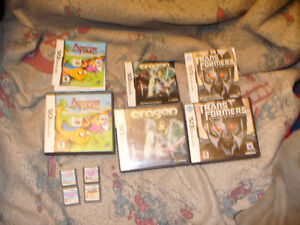 Nintendo DS  box lout of 7 games