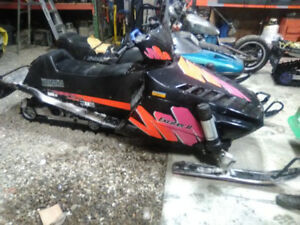 1993 Exciter SX 2 and a bunch of extra parts