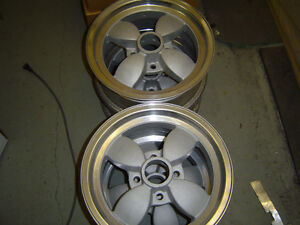4- 14 x 6 American racing alum mag alloy wheels 4 x 108