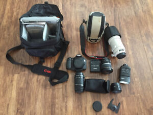 Canon EOS 60D and lenses