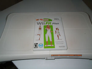 Wii Fit Balance Board with Wii Fit Plus