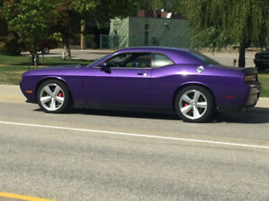 2010 Challenger SRT PLUM CRAZY 6 spd manual low mileage