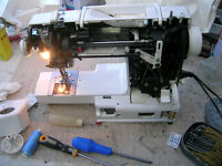 Sewing machine repairs domestic/industrial machines
