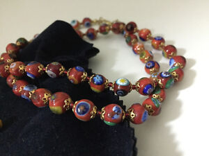 Spectacular necklace from Venice Italy London Ontario image 1