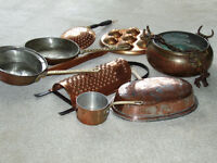 Selection of Copper Ware