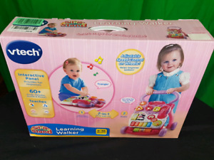 New - VTech Sit To Stand Learning Walker