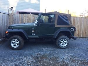 1997 Jeep TJ NEW FRAME AND INSPECTION