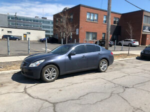 Infiniti G37x Luxury 2009 + Set de 8 Roues/Mags