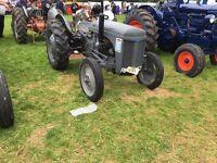 Grey Ferguson diesel tef tractor