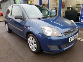 2008 FORD FIESTA 1.25 STYLE CLIMATE 3 DOOR MANUAL 60K MOT SEPT 2018