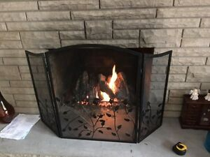 Gas Fire Log