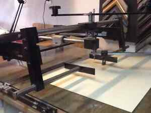 Frame mouldings and equipment