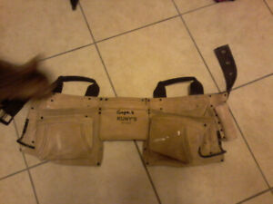 tool pouch, sauntering gun and random hand tools for sale