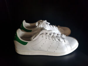 Leather Stan Smith Addidas Shoes White/Green Size 10.5 Mens