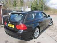 2012 12 BMW 3 SERIES 318D SE TOURING 5DR SAT NAV/LEATHER DIESEL