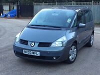 2003 Renault espace 2.0 T auto 7 seater