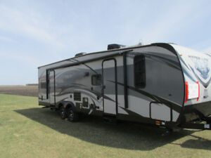 2016 Forest River XLR Toy Hauler Camping Trailer for sale.