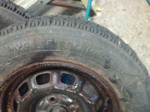 155/80/13 Goodyear winter tires