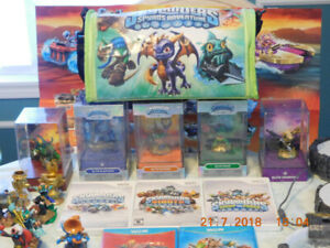 Skylander figurines and other Accessories