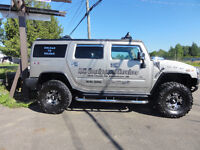 2003 HUMMER H2 - GREAT ADVERTISING FOR YOUR BUSINESS